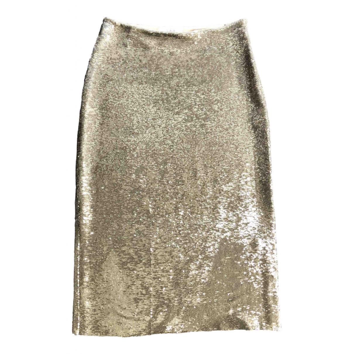 Iro \N Rocke in  Gold Mit Pailletten