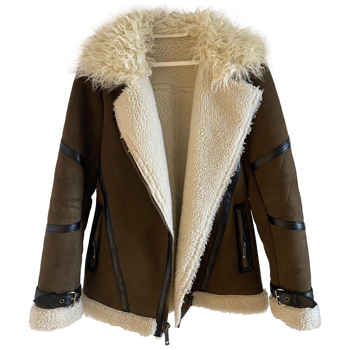 Michael Kors \N Brown Suede jacket for Women 8 UK
