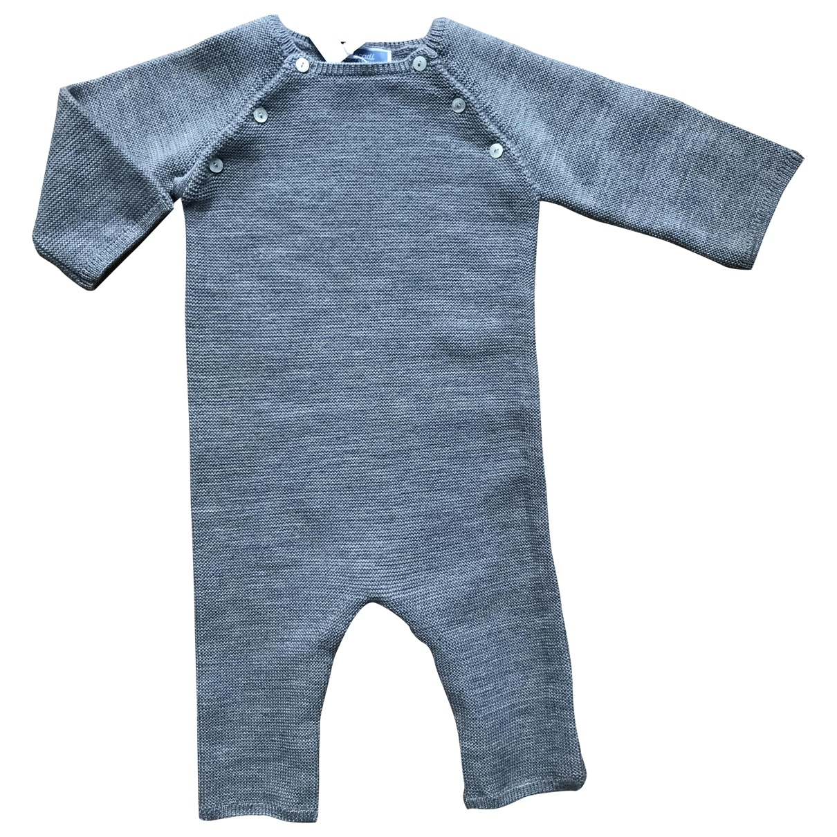 Jacadi \N Grey Wool Outfits for Kids 6 months - up to 67cm FR