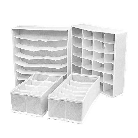Sorbus Storage Box, One Size , White