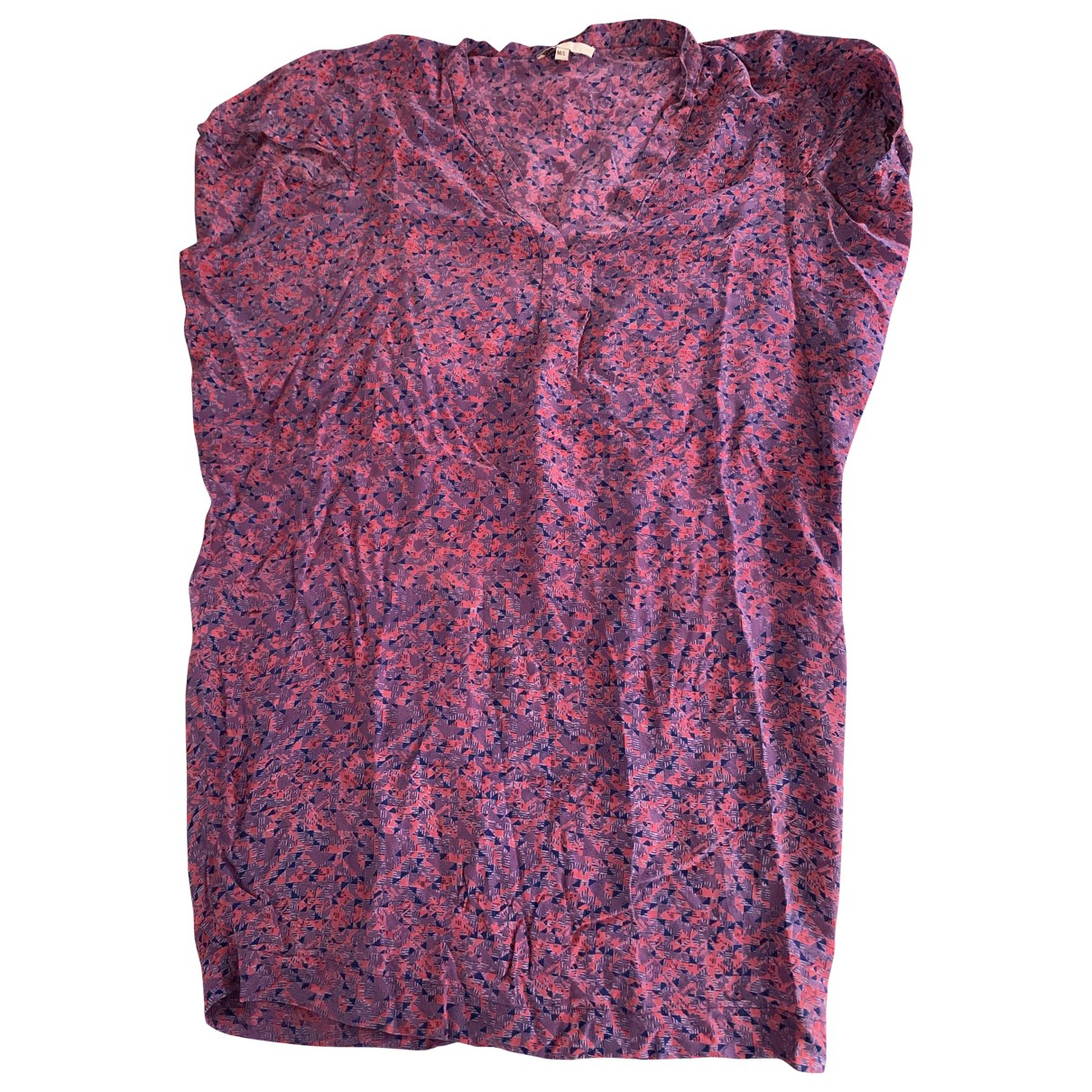 Maje \N Pink Silk dress for Women M International