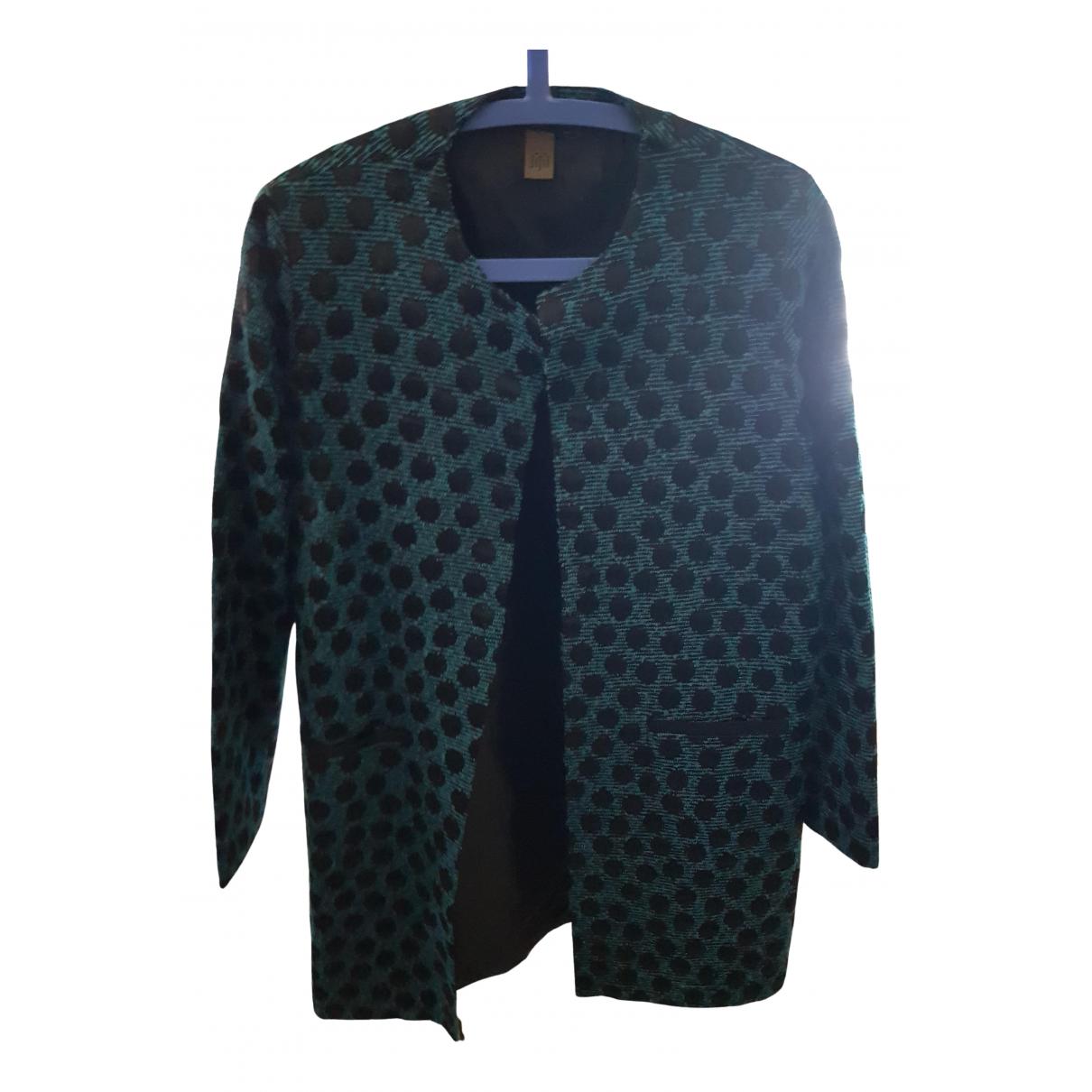 Jijil - Veste   pour femme en coton - bleu