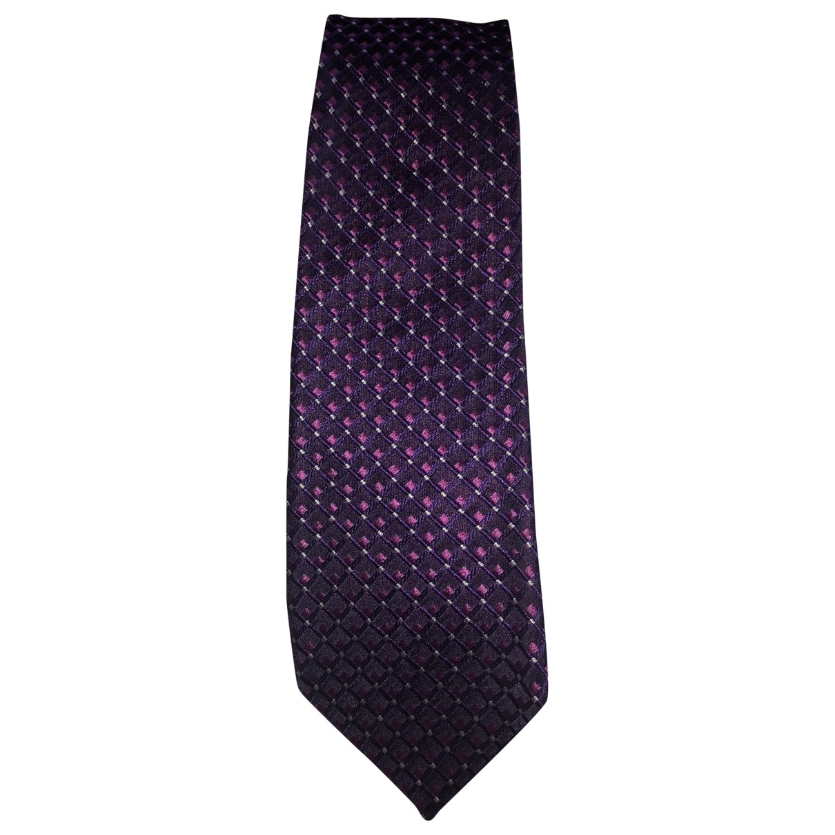 Boss \N Purple Silk Ties for Men \N