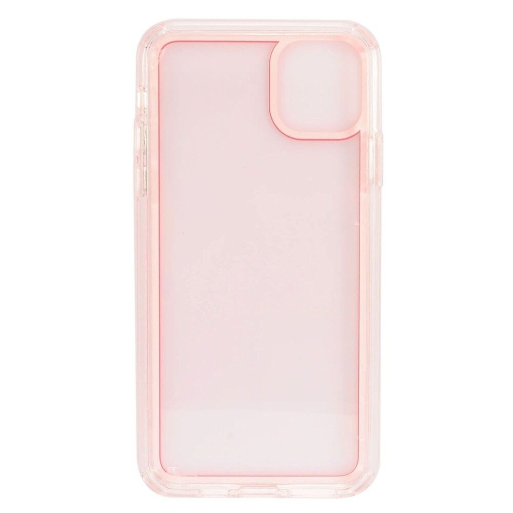 Insten Bumper Acrylic Transparent Plastic TPU Case For Apple iPhone 11 Pro - Red (Red)