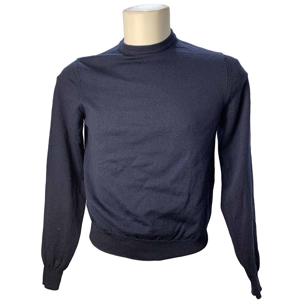 Just Cavalli \N Blue Wool Knitwear & Sweatshirts for Men S International