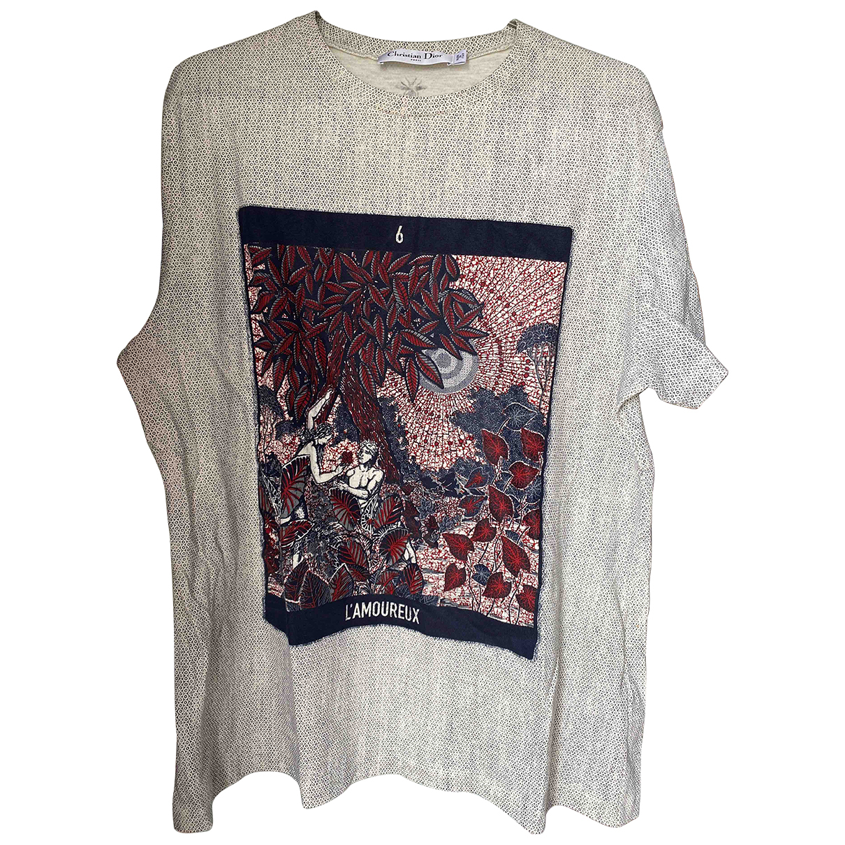 Dior Homme \N Grey Cotton T-shirts for Men L International