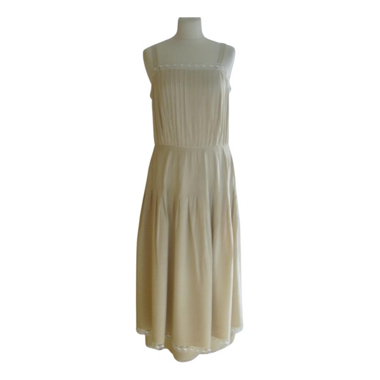 Chloé N Yellow Silk dress for Women M International