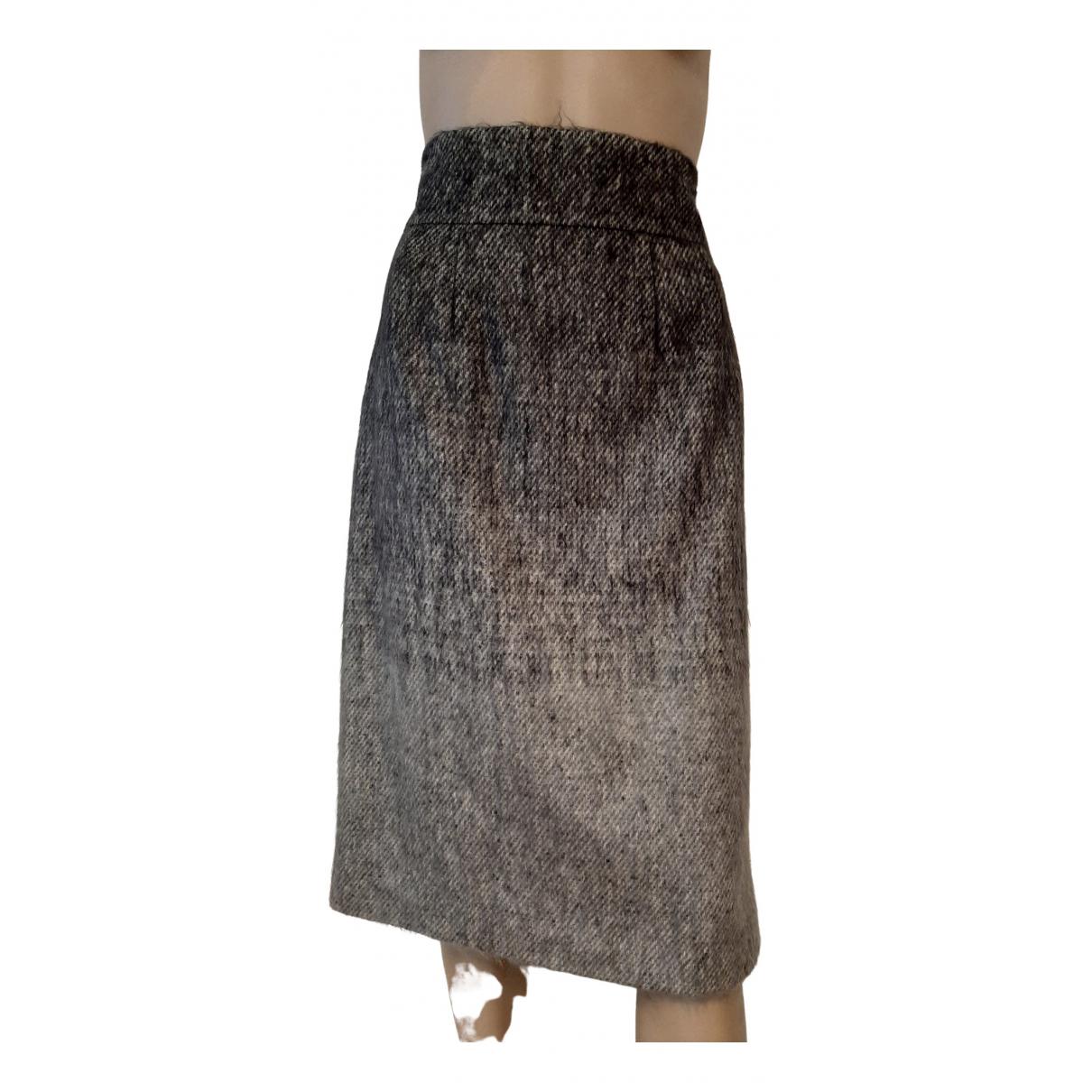 Class Cavalli - Jupe   pour femme en laine - gris
