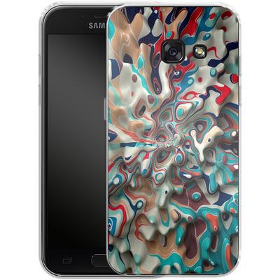 Samsung Galaxy A3 (2017) Silikon Handyhuelle - Weird Surface von Danny Ivan