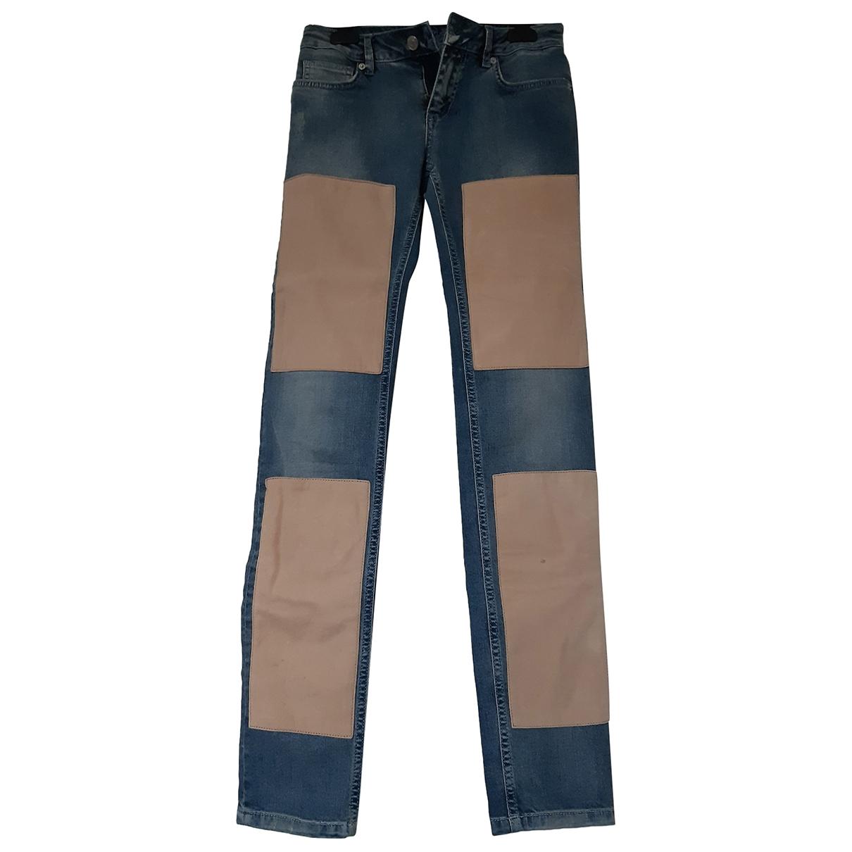 Zadig & Voltaire \N Blue Denim - Jeans Jeans for Women 36 FR