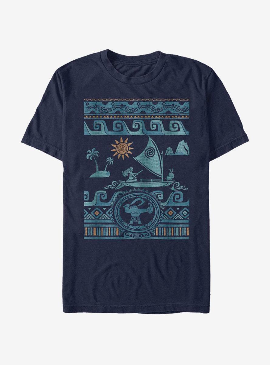 Disney Moana Wayfinding Collage T-Shirt
