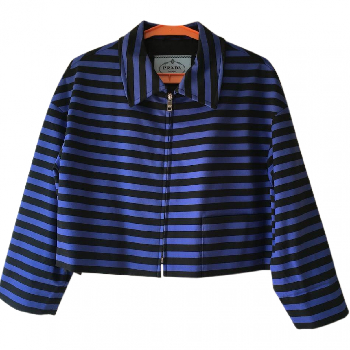 Prada \N Blue Cotton jacket for Women 44 IT