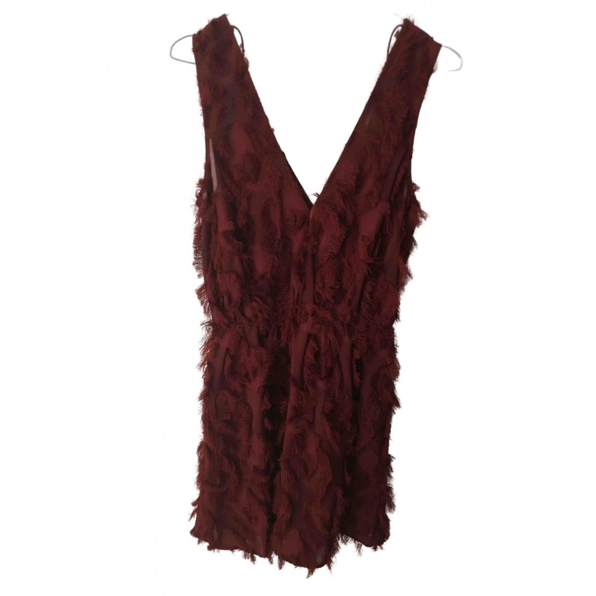 & Stories \N Burgundy dress for Women 6 US