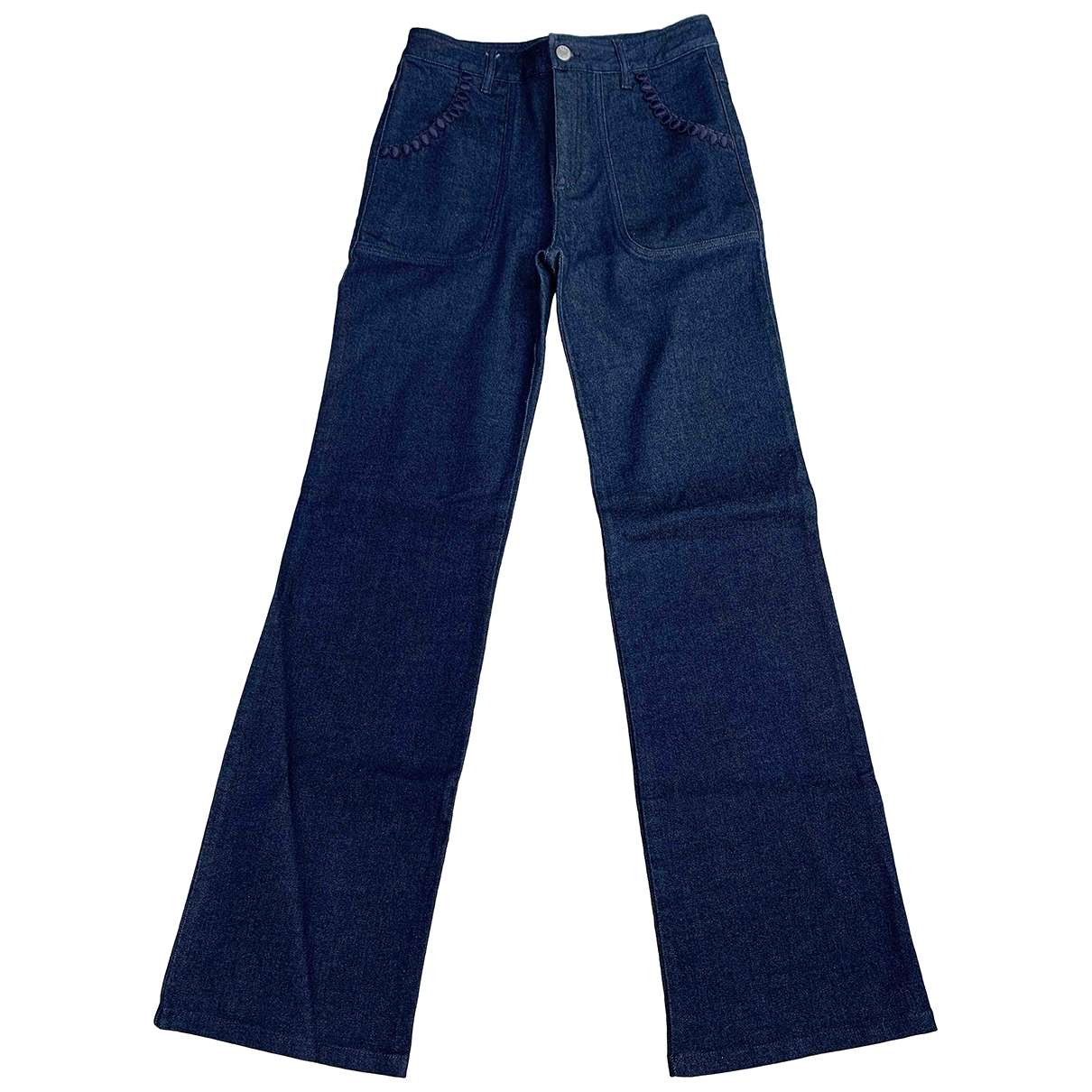 See By Chloé \N Blue Cotton Jeans for Women 27 US