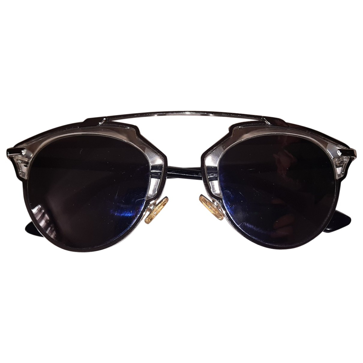Dior So Real  Silver Metal Sunglasses for Women \N