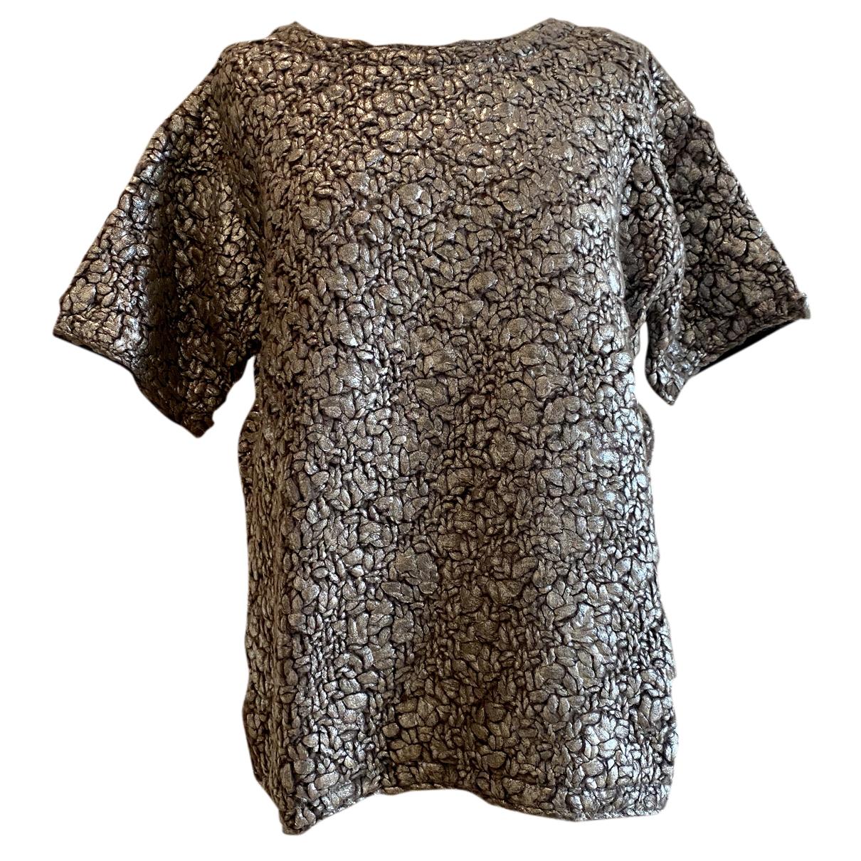 Moncler - Pull   pour femme en laine - anthracite