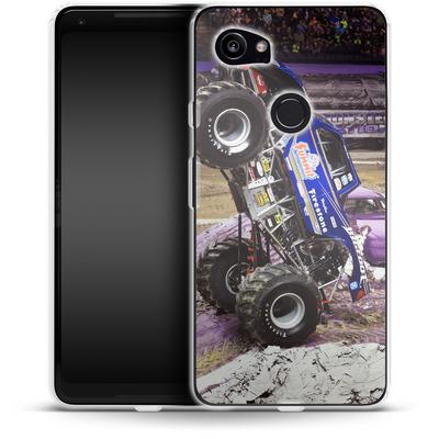 Google Pixel 2 XL Silikon Handyhuelle - Bite Firestone von Bigfoot 4x4