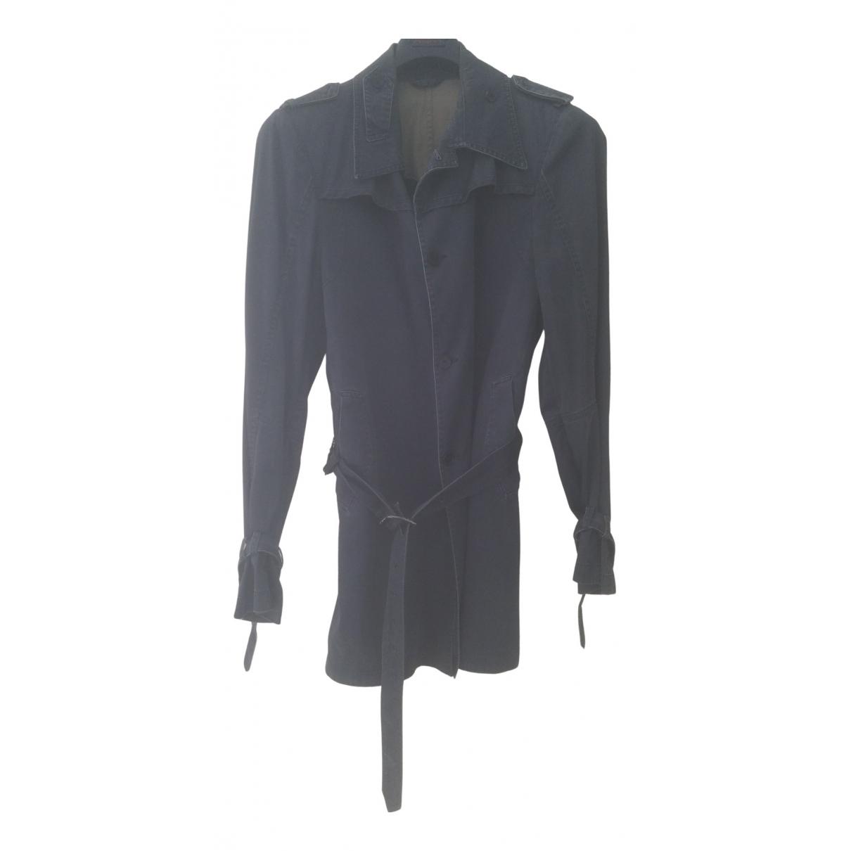Costume National - Vestes.Blousons   pour homme en coton - bleu