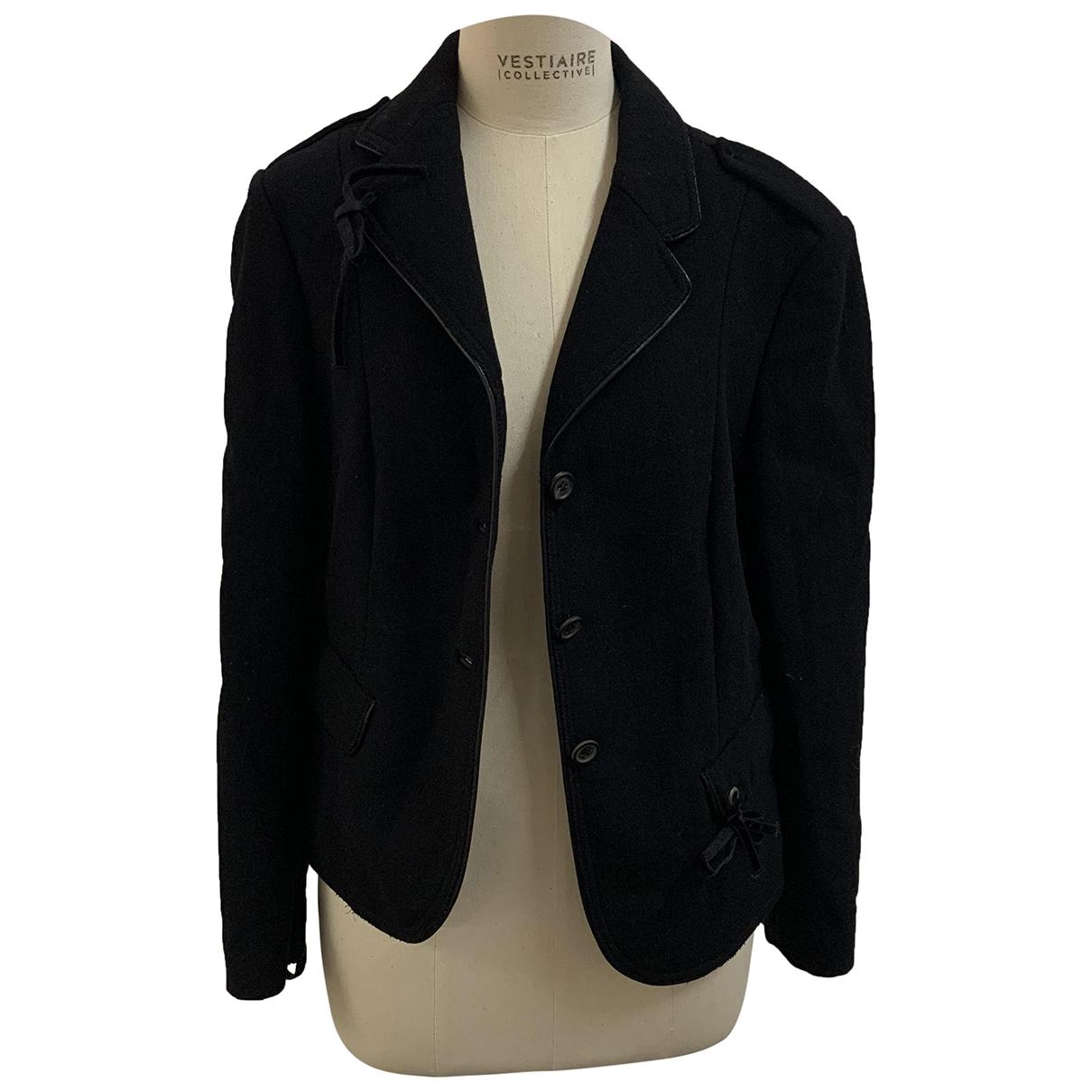 Prada \N Black Wool jacket for Women 42 IT