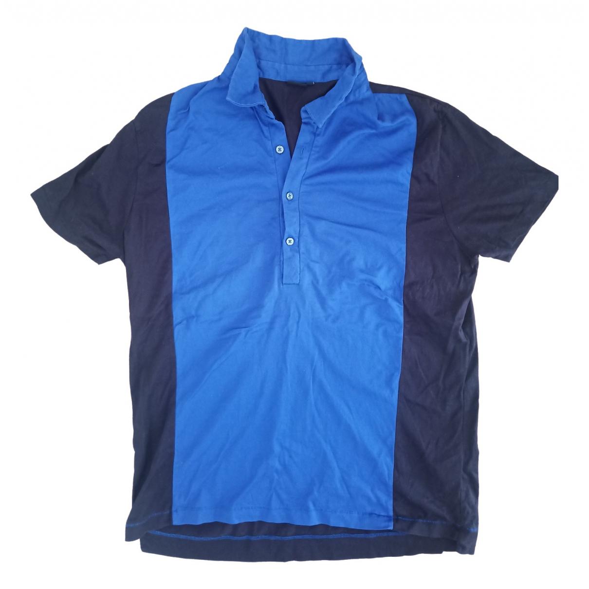 Paul Smith \N Poloshirts in  Blau Baumwolle