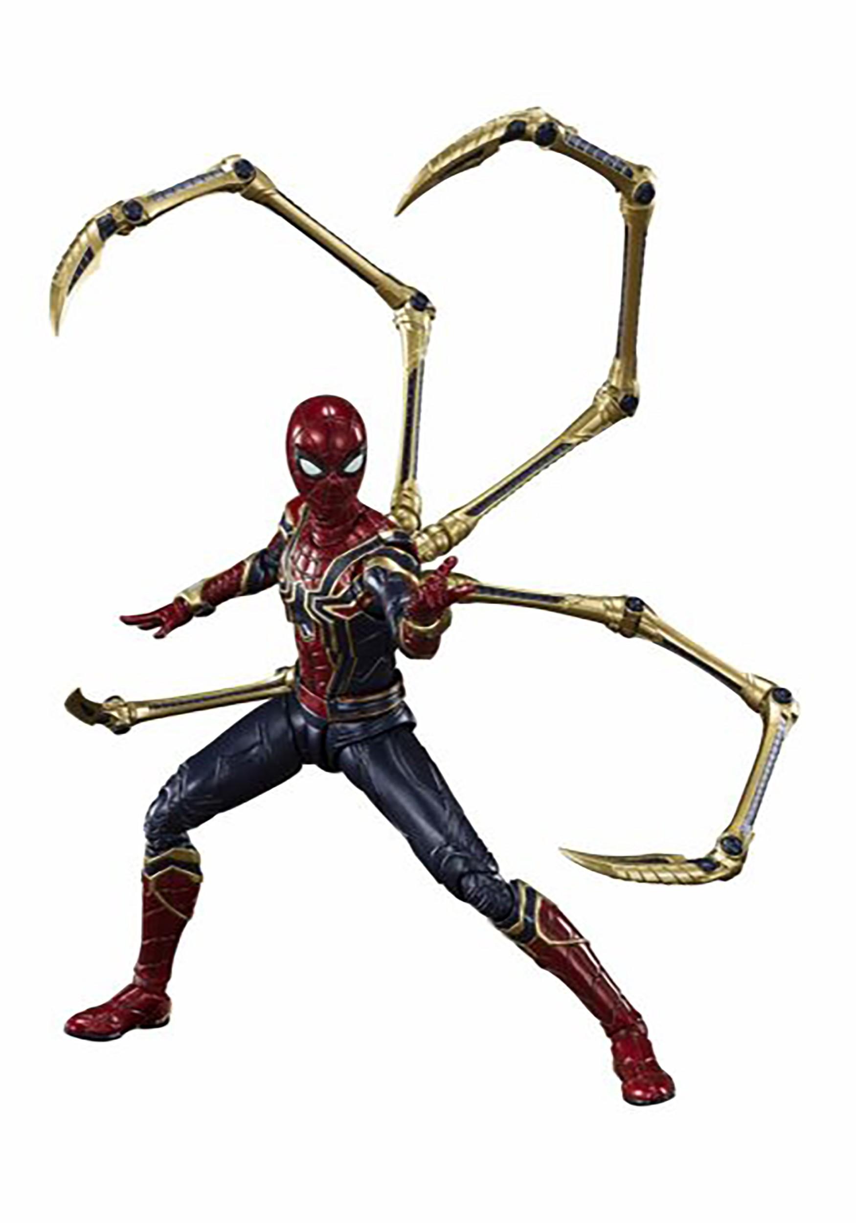 Avengers: Endgame Iron Spider Final Battle Edition SH Figuarts