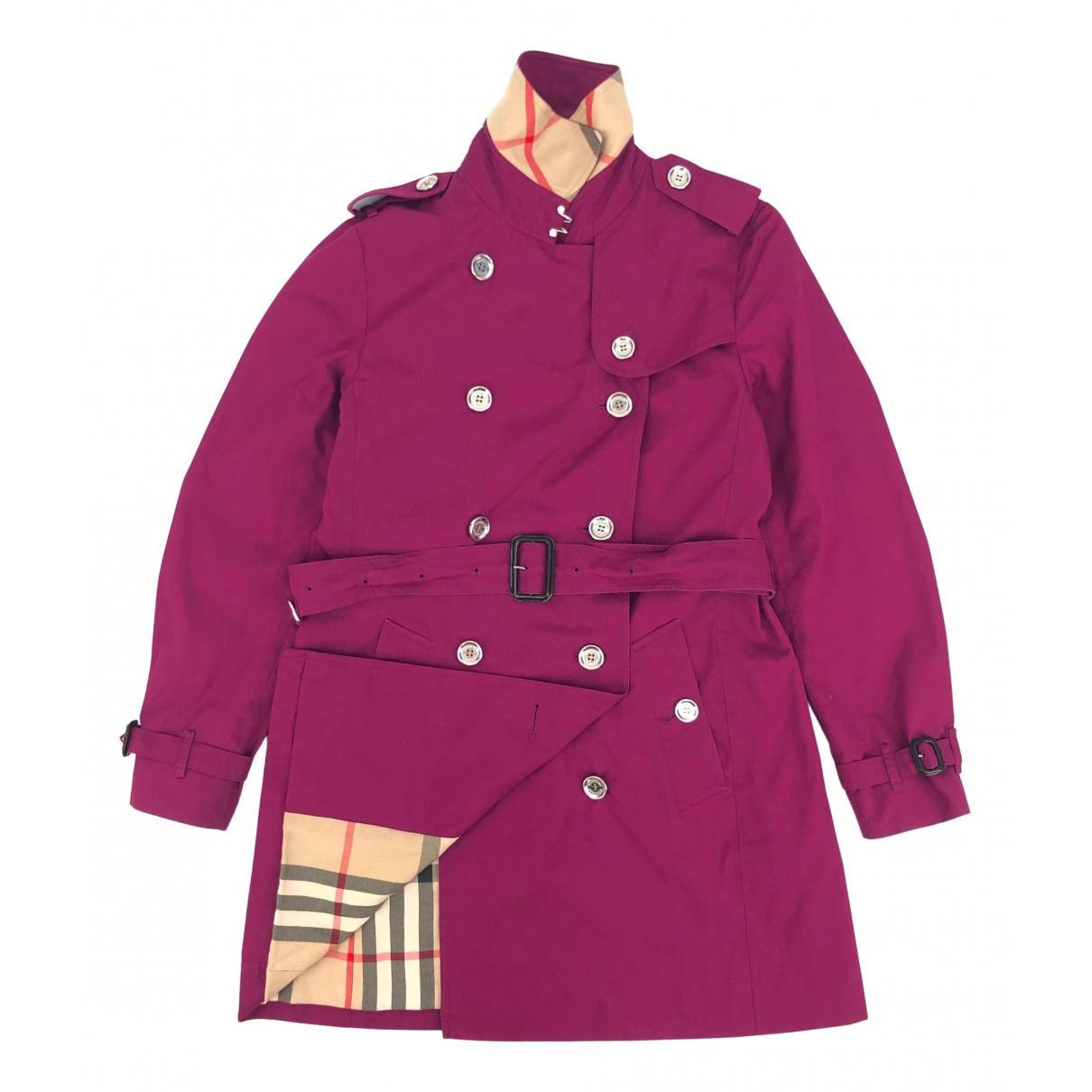 Burberry \N Purple Trench coat for Women L International