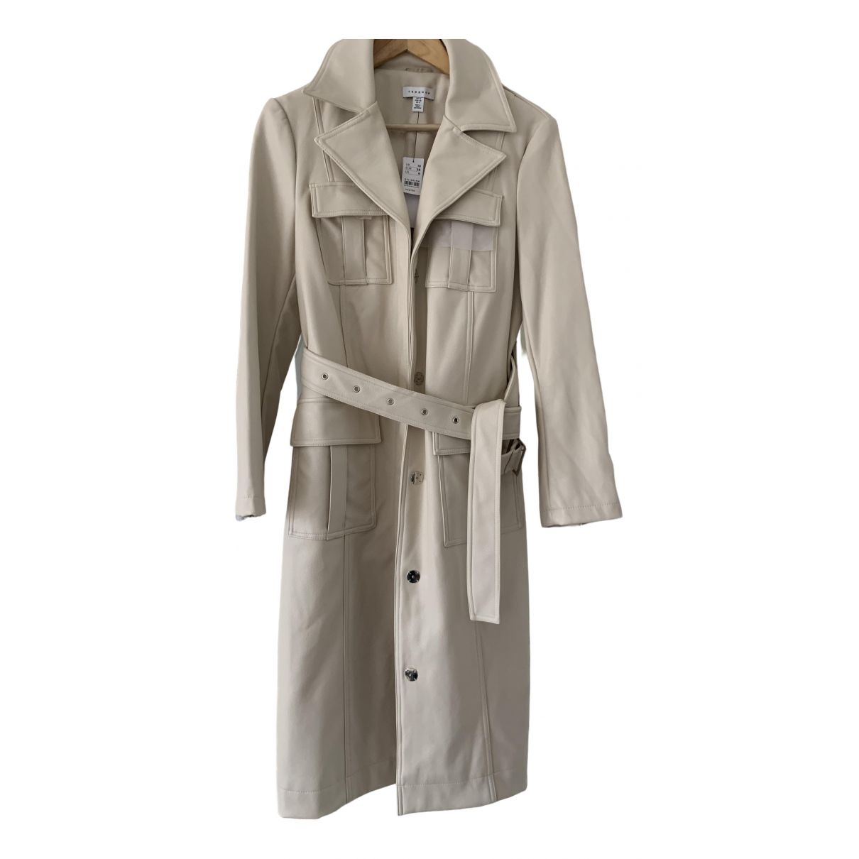 Topshop - Trench   pour femme - beige