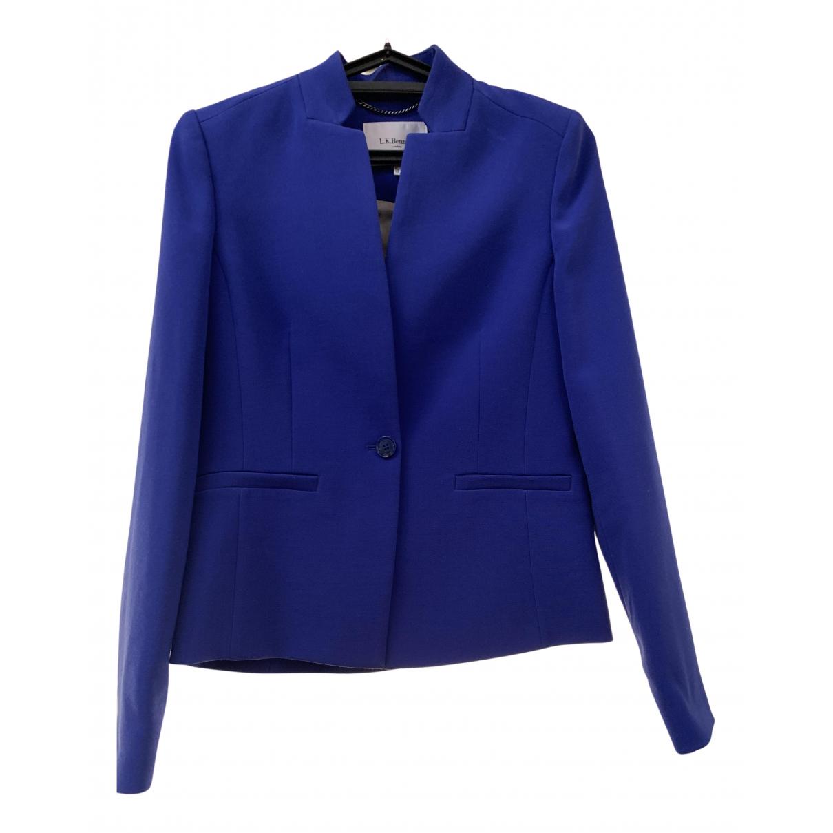 Lk Bennett N Purple jacket for Women 8 UK