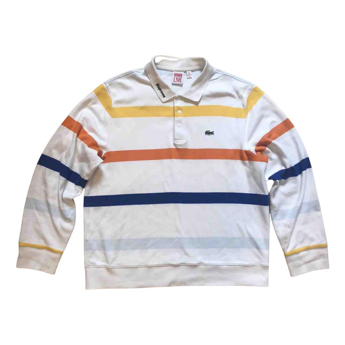 Lacoste X Supreme - Polos   pour homme en coton - multicolore