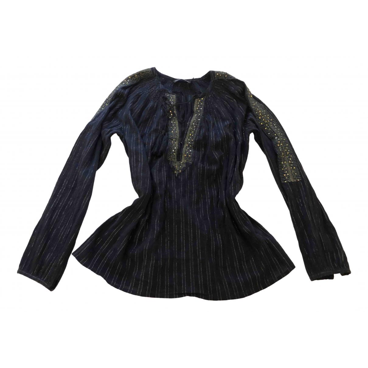 Antik Batik \N Blue Cotton  top for Women 38 FR