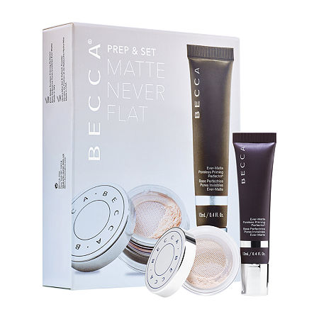 BECCA Prep & Set Matte Never Flat Kit Makeup Palette, One Size , No Color Family