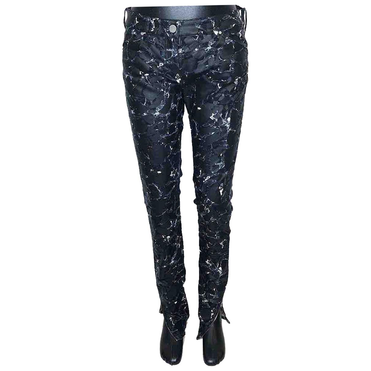 Balenciaga \N Black Cotton - elasthane Jeans for Women 38 FR