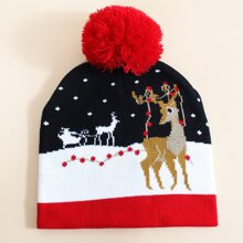 Christmas Pattern Beanie
