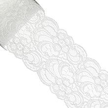 Off White Jillian Lace Ribbon - 3-9/16(90mm) X 10 Yards - Cotton - Type: Jillian by Paper Mart