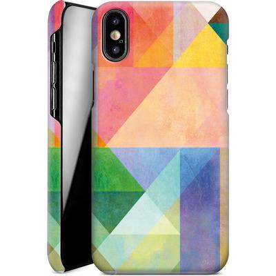 Apple iPhone XS Smartphone Huelle - Color Blocking 1 von Mareike Bohmer