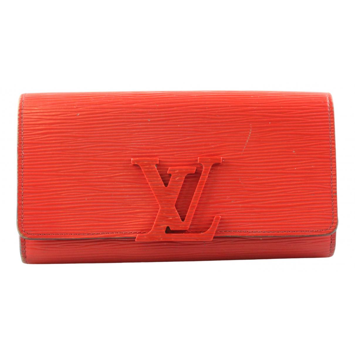 Cartera Louise de Cuero Louis Vuitton