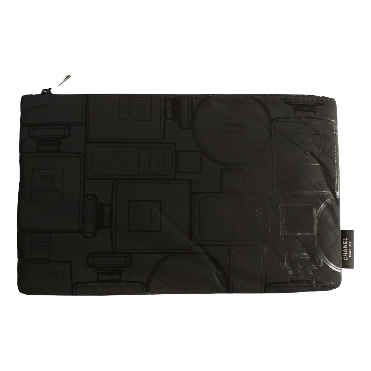 Chanel \N Black Cloth Purses, wallet & cases for Women \N