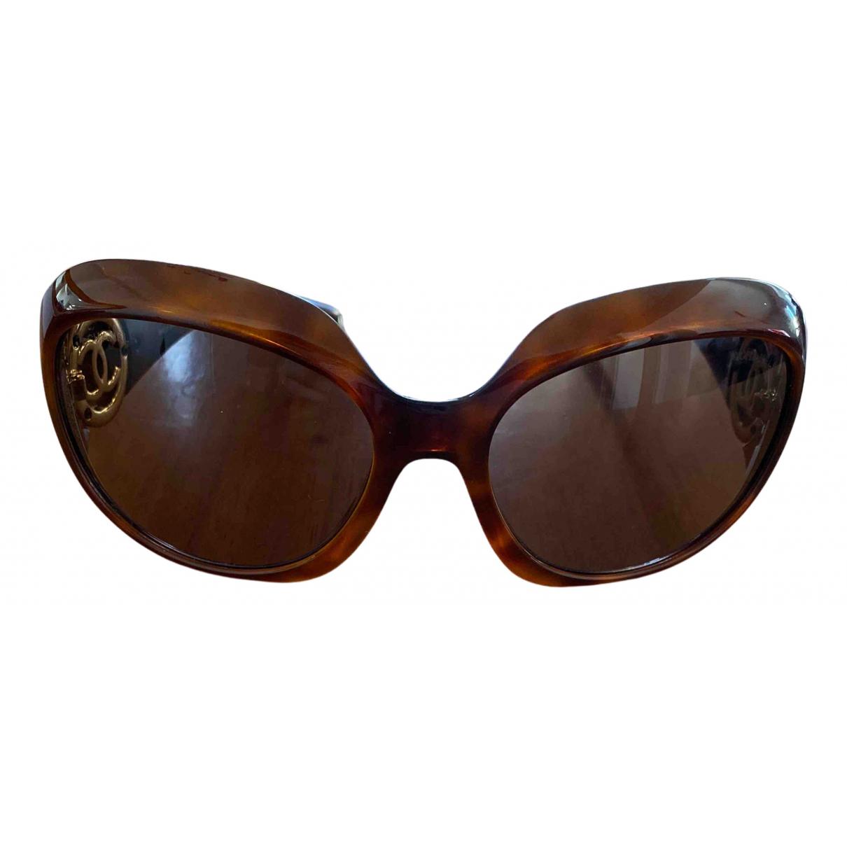 Chanel N Brown Sunglasses for Women N