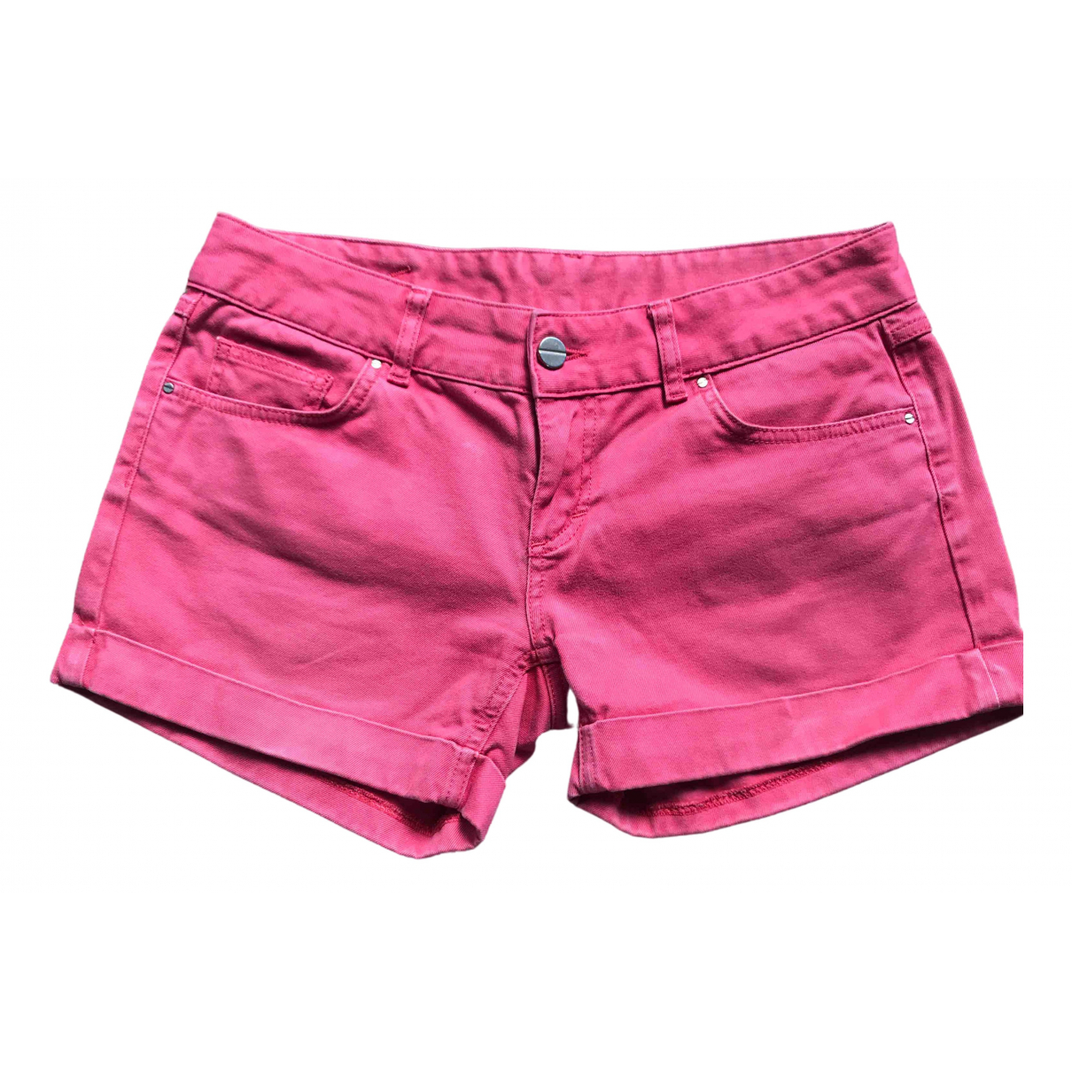 Uterque \N Shorts in  Rosa Baumwolle