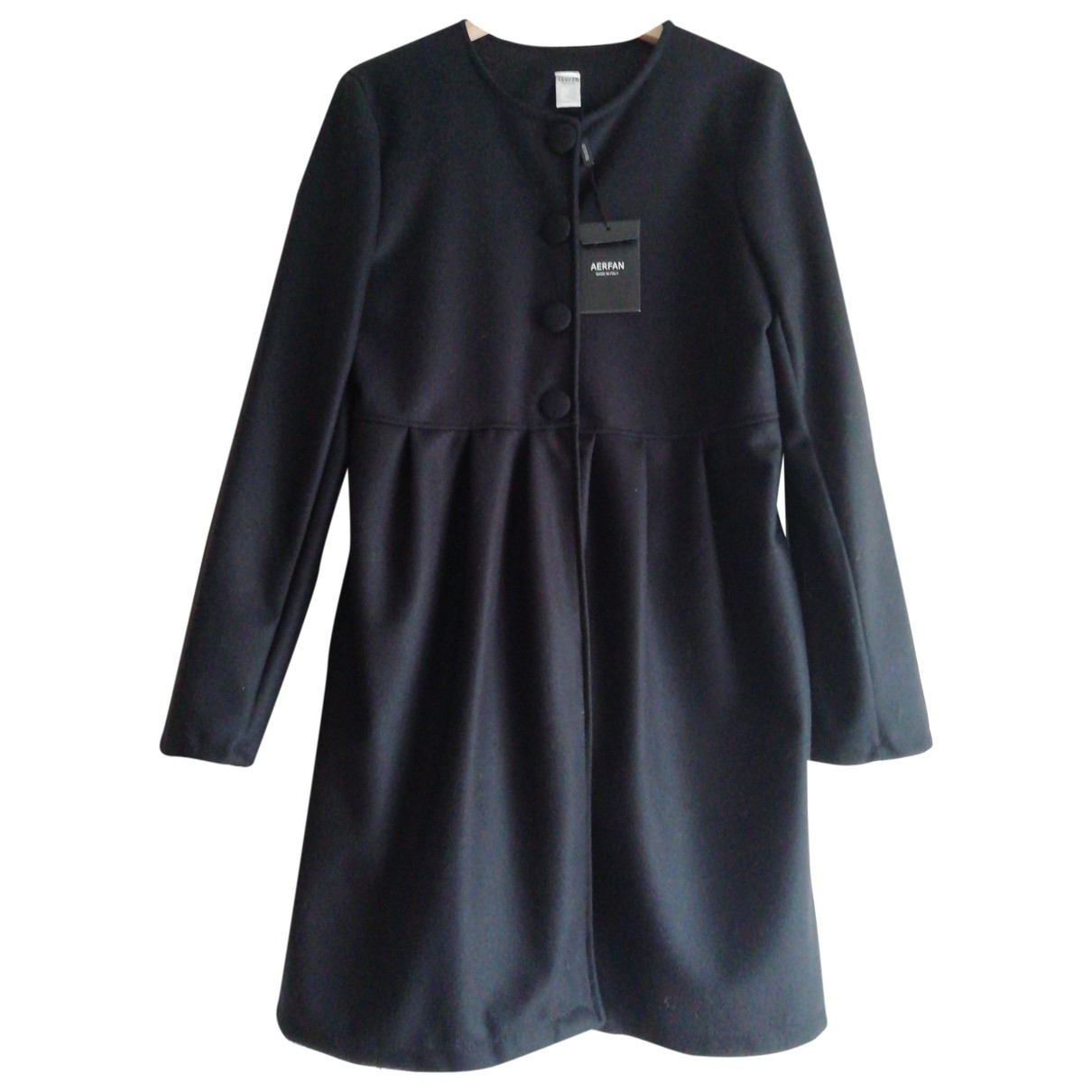 Non Signé / Unsigned \N Black coat for Women L International