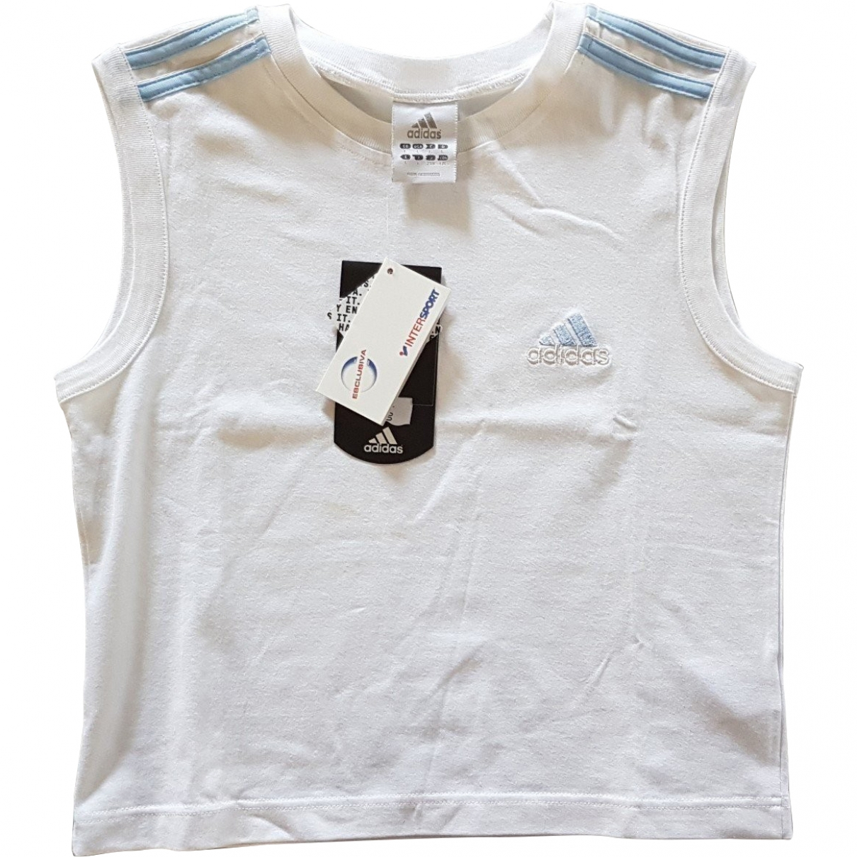 Adidas \N White Cotton  top for Women L International