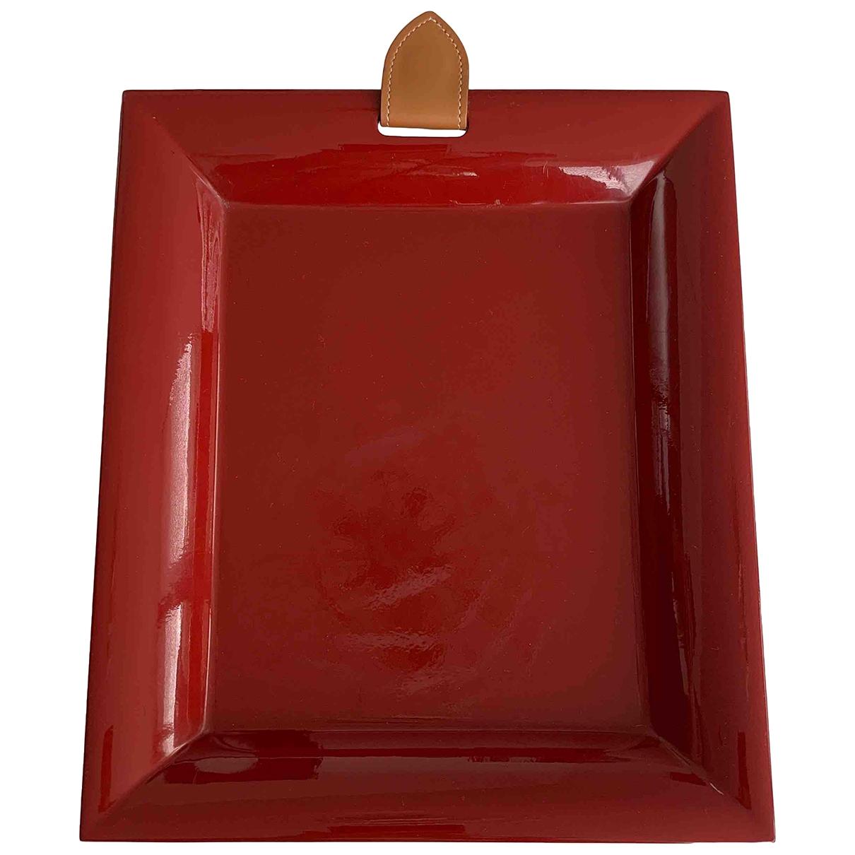 Hermes - Objets & Deco   pour lifestyle en bois - rouge