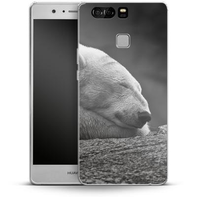 Huawei P9 Silikon Handyhuelle - Polar Bear von caseable Designs