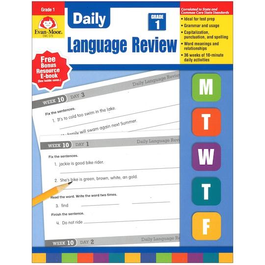Evan Moor® Daily LanGauge Review, Grade 1 By Evan-Moor Educational Publishers   Michaels®