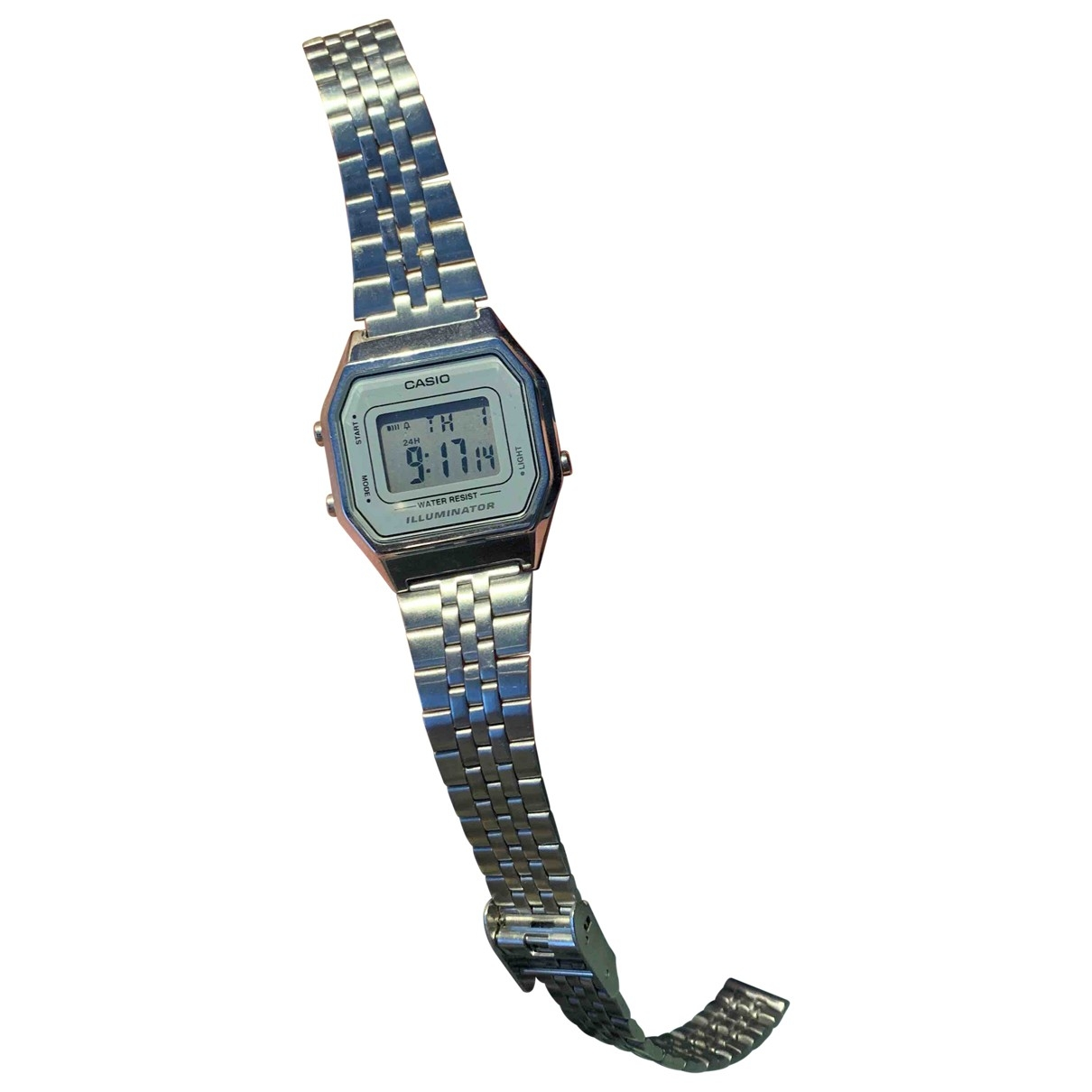 Casio \N Grey Steel watch for Women \N