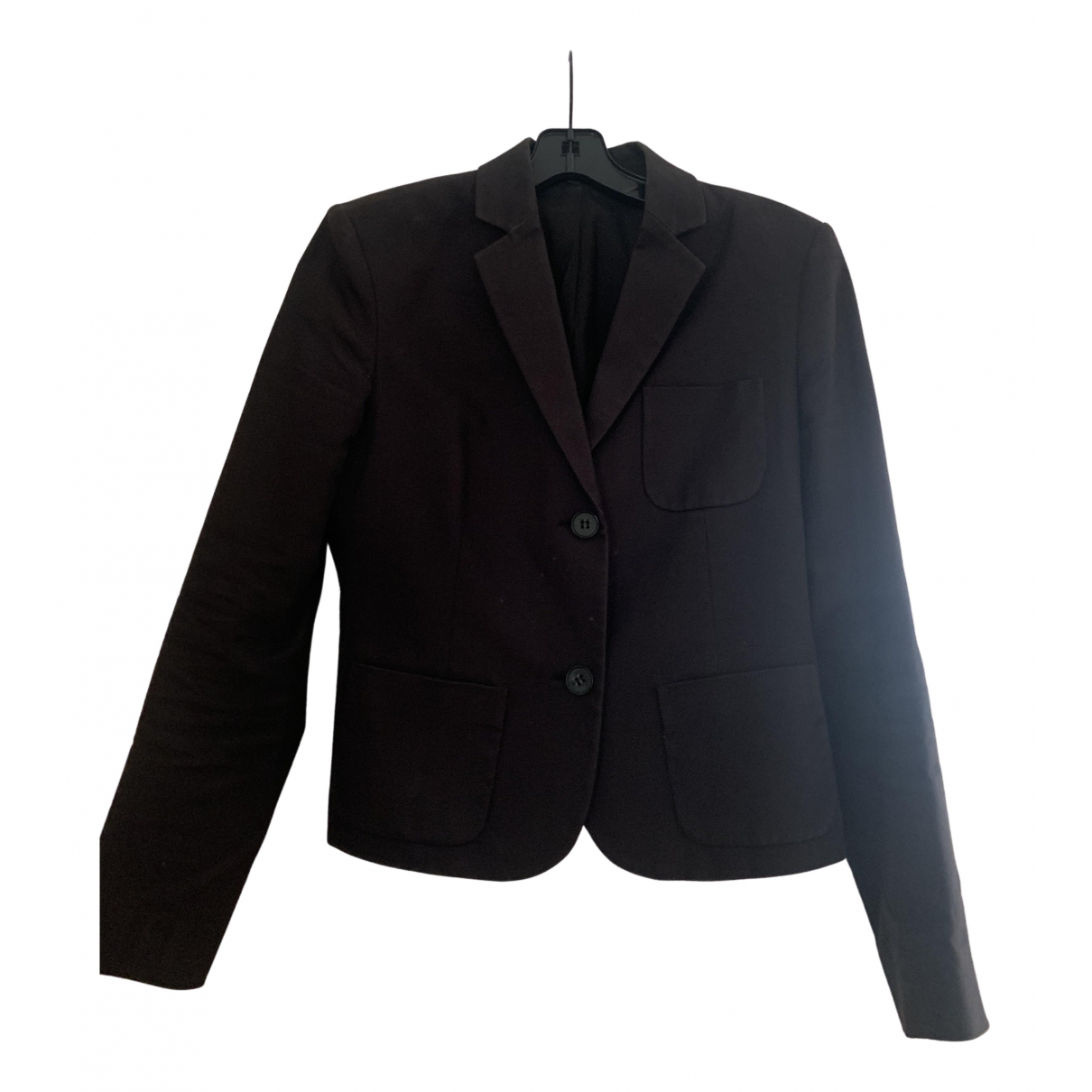 Theory \N Black Cotton jacket for Women 2 US