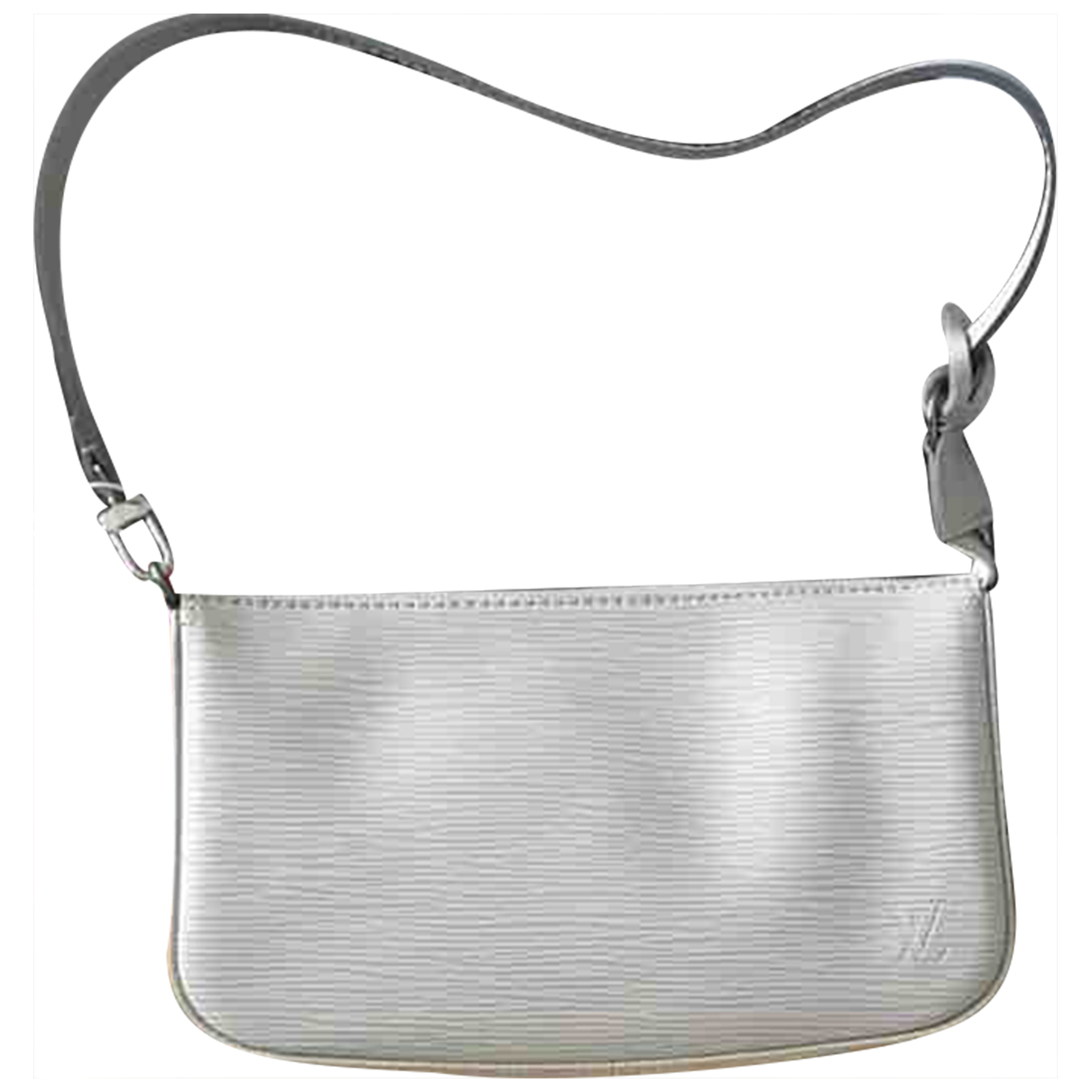 Louis Vuitton Pochette Accessoire Clutch in  Weiss Leder