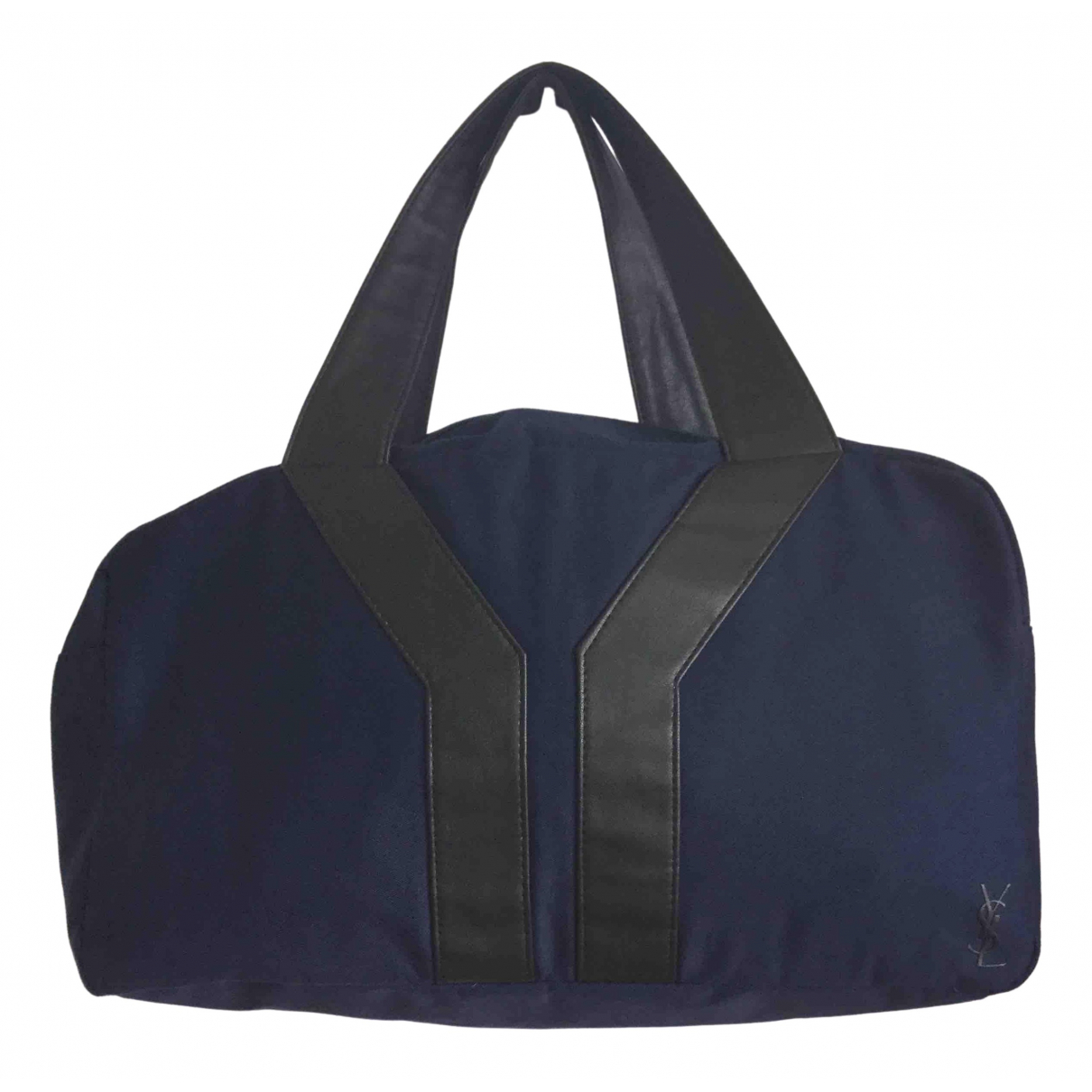 Yves Saint Laurent \N Blue Cloth handbag for Women \N