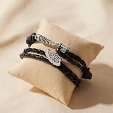 1pc Maenner Axe Decor String Armband
