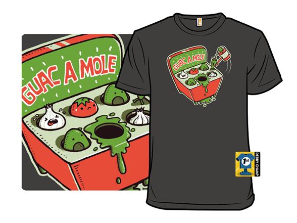 Guac A Mole T Shirt